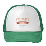 revel brewing trucker trucker hat