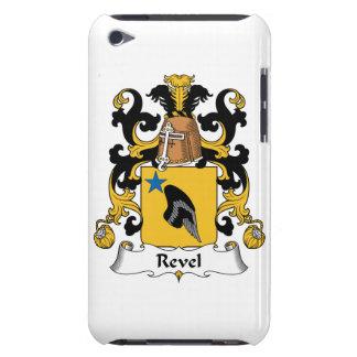 Revel el escudo de la familia iPod touch Case-Mate protector