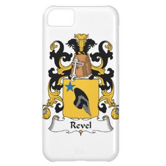 Revel el escudo de la familia funda para iPhone 5C