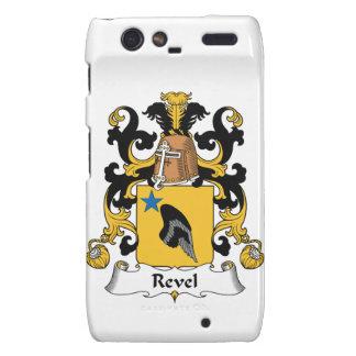 Revel el escudo de la familia motorola droid RAZR fundas