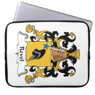 Revel el escudo de la familia fundas ordendadores