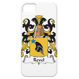 Revel el escudo de la familia iPhone 5 funda