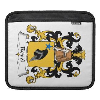 Revel el escudo de la familia mangas de iPad