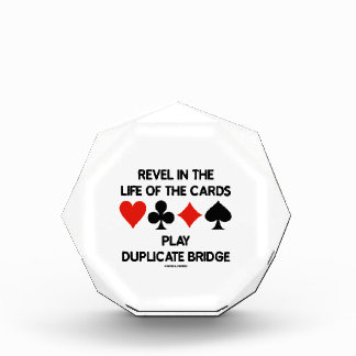 Revel In The Life Of Cards Play Duplicate Bridge Awards