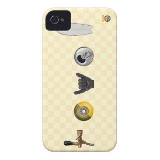 revel la piel del iPhone de la compañía de la Funda Para iPhone 4 De Case-Mate