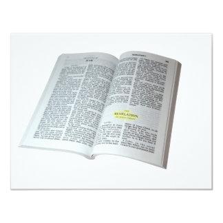"""Revelación del Jesucristo Invitación 4.25"""" X 5.5"""""""