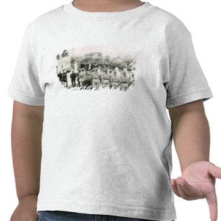 Revelación del monumento de guerra camiseta
