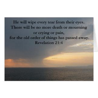 Revelation 21:4 card