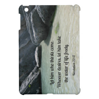 Revelation 22:17 Let him who thirsts, come... iPad Mini Cover