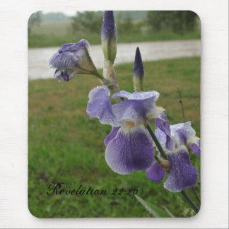 Revelation 22:20 Iris Mousepad
