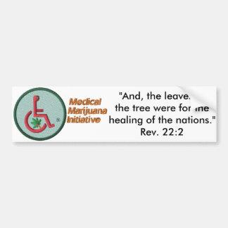 Revelation 22:2 MMI™ Logo Script Bumper Sticker