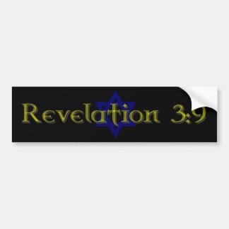 Revelation 3:9 bumper sticker
