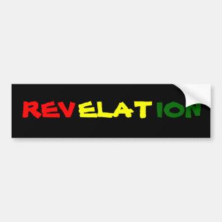 REVELATION BUMPER STICKERS