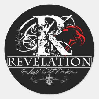 Revelation Classic Round Sticker
