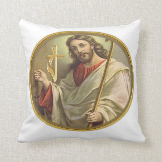 Revelations 3:20 items throw pillow