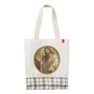 Revelations 3:20 products zazzle HEART tote bag