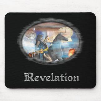 Revelations 4 horse man mouse pad