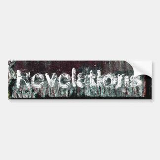 Revelations Bumper Sticker