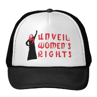 Revele las derechas de las mujeres musulmanes gorros bordados