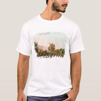 Revellers on a Coach, c.1785-90 (oil on canvas) T-Shirt