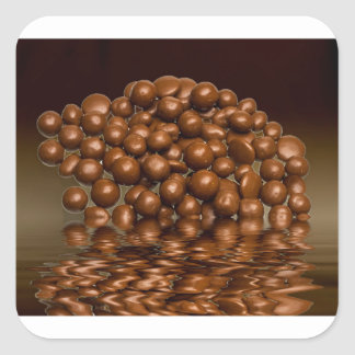 Revels chocolate sweets square sticker