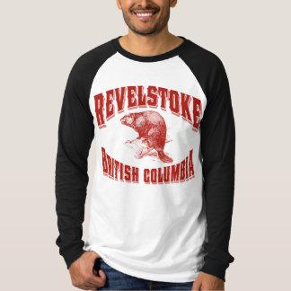 Revelstoke Beaver Canadian Red T-Shirt