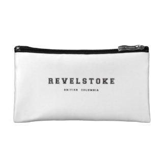 Revelstoke British Columbia Makeup Bag