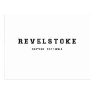 Revelstoke British Columbia Postcard