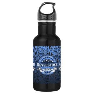 Revelstoke City Logo Stainless Steel Water Bottle