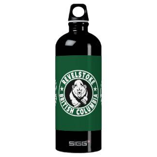 Revelstoke Green Circle Water Bottle