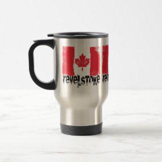 Revelstoke Grunge Flag Travel Mug
