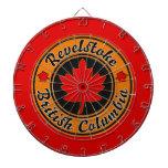Revelstoke Maple Circle Dart Board