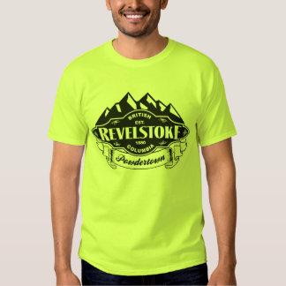 Revelstoke Mountain Emblem Black T-Shirt