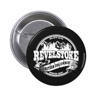 Revelstoke Old Circle Black Button