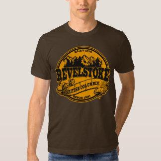 Revelstoke Old Circle Black Gold T-Shirt