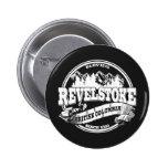 Revelstoke Old Circle Black Pinback Button