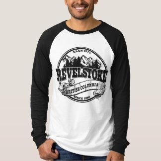 Revelstoke Old Circle Black T-Shirt