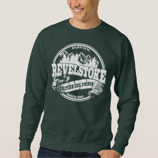 Revelstoke Old Circle White Sweatshirt