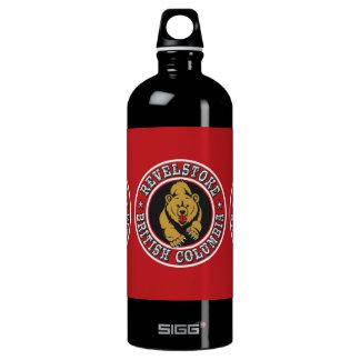 Revelstoke Red Circle Water Bottle