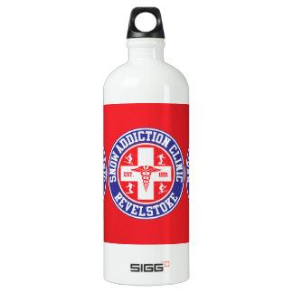Revelstoke Snow Addiction Clinic Aluminum Water Bottle