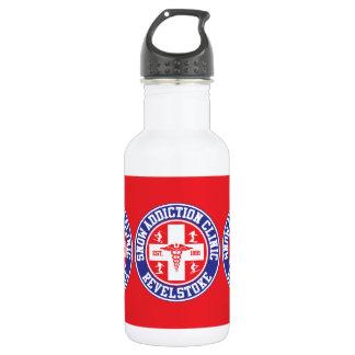 Revelstoke Snow Addiction Clinic Stainless Steel Water Bottle