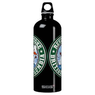 Revelstoke Snowman Circle Water Bottle