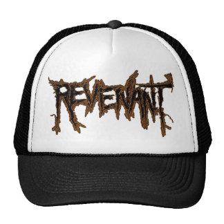 REVENANT BURNING GROUND LOGO CAP