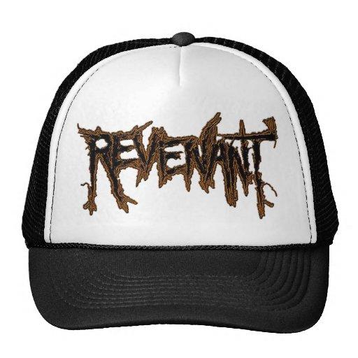 REVENANT BURNING GROUND LOGO TRUCKER HAT