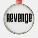 Revenge Model Management Christmas Ornament
