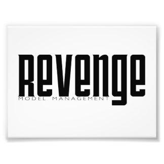 Revenge Model Management Photo Print