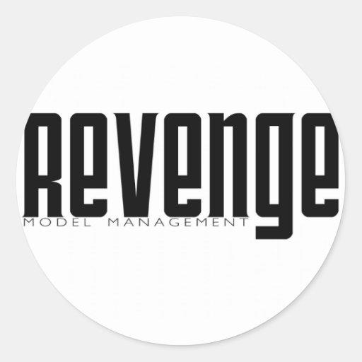 Revenge Model Management Stickers