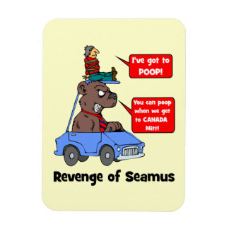 Revenge of Seamus Rectangular Photo Magnet