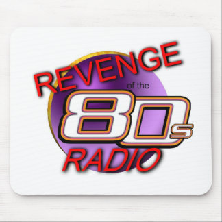 Revenge of the 80s Radio mouse pad