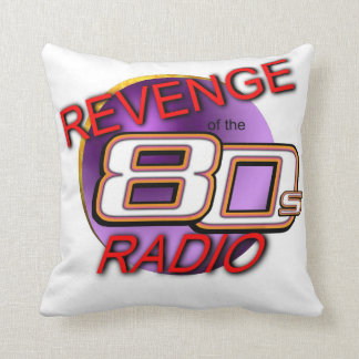 Revenge of the 80s Radio Pillow